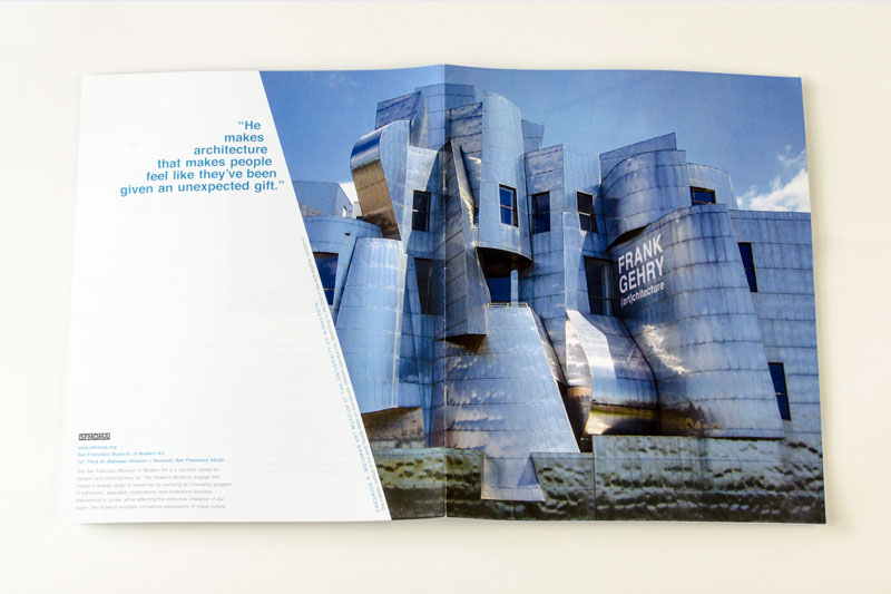 Frank Gehry Booklet Spread 0