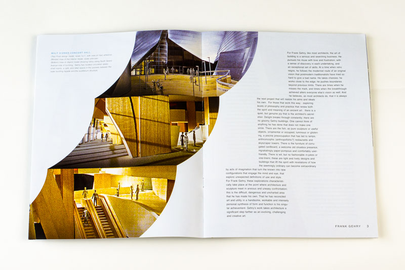Frank Gehry Booklet Spread 2