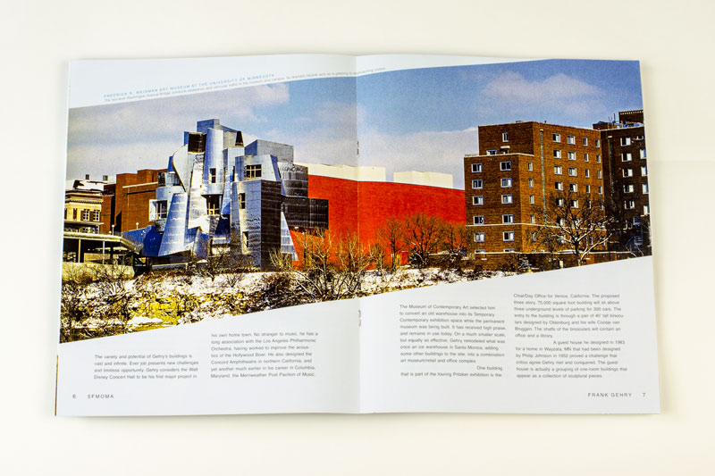 Frank Gehry Booklet Spread 4
